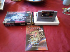 Super R-Type (Super Nintendo Entertainment System, 1991)complete with box/manual