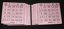 BINGO PAPER Cards 1 on's singles  500 sheets Purple Solid FREE SHIPPING