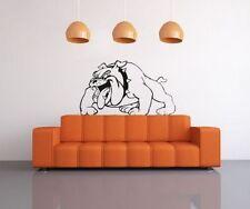 Pittbull Hund Bad Wandtattoo Wallpaper Wand Schmuck 57 cm