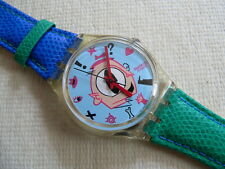 1991 Swatch Watch  Gulp Never worn Leather band