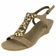 Women's Wedge Suede Slingbacks Casual Sandals & Beach Shoes