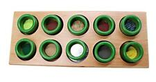 Tactile Game Touch And Match Sensory Board Wooden Toy