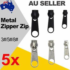 5x Fix Zipper Zip Slider Rescue Instant Repair Replacement Kit Accessories AU