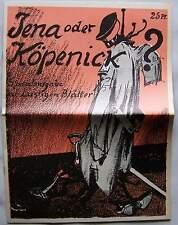 Berlin 1906 Der Hauptmann von Köpenick Lustige Blätter Karikatur Graphik Satire