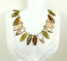 KENDRA SCOTT Nalin  Yellow Gold Plated Multi-Stone Statement Necklace
