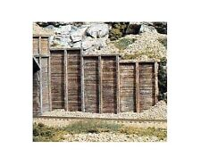 Woodland Scenics C1160 6 x Timber Retaining Wall Sections 1:160 / N Gauge