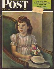 The Saturday Evening Post May 5 1945 Alexander Brook Vintage Birthday Gift