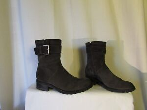boots/bottines Biker FREE LANCE daim gris pointure 41