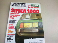 L AUTO JOURNAL - N° 5  - ANNEE  1979  *