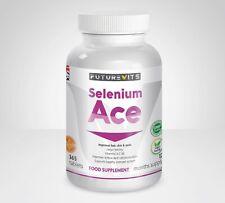 Sélénium Comprimés 220 Mcg et Vitamines A, C, E Antioxydant Pilules Haut Fort GB