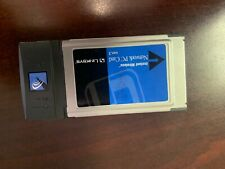 Linksys Wireless Network 2.4 Ghz Pc Card Pcm Cia Model: Wpc11 v3
