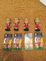 corinthian prostars 4x Different Michael Owen Liverpool Mint With Cards