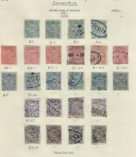 Colombia,Scott#103-108,Small Collection,24 stamps,Dif.colors,MH & used