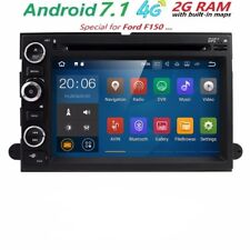 AUTORADIO NAVIGATORE ANDROID 7.1 FORD F 150 350 450 MUSTANG HYBRID EDGE STEREO