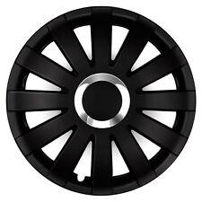4 Radkappen Radzierblenden 16 Zoll ONY schwarz passend für Mercedes Mazda Ford