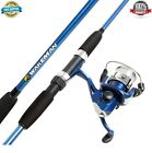 NEW Spinning Combos Swarm Series Spinning Rod and Reel Combo - Blue Metallic