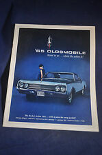 1965 Styled to Go Where the Action is - Oldsmobile Brochure *98*Starfire*Jetstar