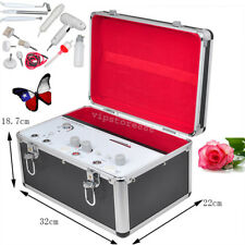 Portable 5 In1 High Frequency Galvanic Vacuum Spray Facial Salon Beauty Machine