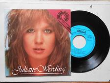 Schallplatte  ST45 Vinyl.  Juliane Werding