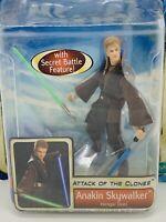 STAR WARS Anakin Skywalker Hanger Duel Attack of the Clones - Hasbro 2002