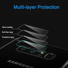 2Pcs Tempered Glass Cover Back Camera Lens + Flash Protector For Samsung Note 8