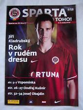 Orig.PRG   Champions League  2008/09  SPARTA PRAG - SHERIFF TIRASPOL  !!  SELTEN