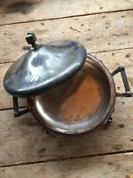 Vintage Queen City Silver co Heavy Silverplate Serving Dish