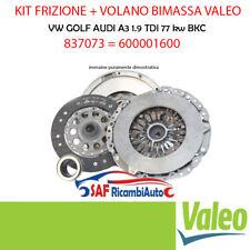 KIT FRIZIONE + VOLANO BIMASSA VALEO VW GOLF AUDI A3 1.9 TDI BKC 837073 600001600