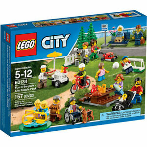 LEGO 60134 City People Pack - Fun at The Park New & Sealed Retired FREE POST