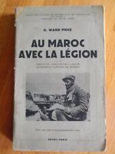 AU MAROC AVEC LA LEGION G. WARD PRICE MILITARIA 1935