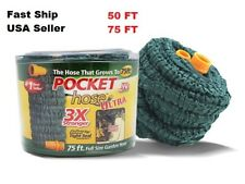 Garden Water hose Pocket hose -Ultra 3X Extreme Expandable Hose - 50 ft OR 75 ft