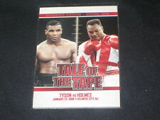 MIKE TYSON & LARRY HOLMES 2010 SPORT KINGS GENUINE AUTHENTIC INSERT TRADING CARD