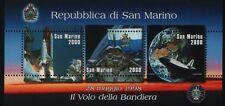 SAN MARINO 1998 foglietto Bandiera nello Spazio nuovo**