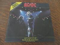 maxi 45 tours AC/DC let's get it up maxi-single limited edition 30 cm 45 rpm