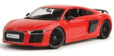 AUDI R8 V10 1:18 scale diecast metal model Maisto die cast models red toy car