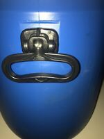 Blue Container Curtec 286 Blue 9 Gallon Screw On Lid With Seal Many Uses