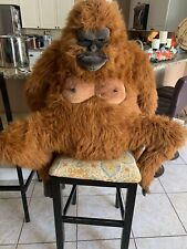 HANSA Stuffed Animal Real Orangutan Plush Doll Cute Large