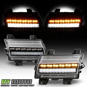2018-2020 Jeep Wrangler JL [LED Type] Black LED Parking Sequential Signal Lights