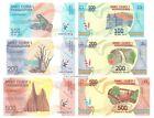 Madagascar 100 + 200 + 500 Ariary 2017 Set of 3 Banknotes 3 PCS UNC