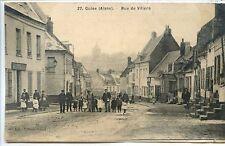 CP 02 Aisne - Guise - Rue de Villiers