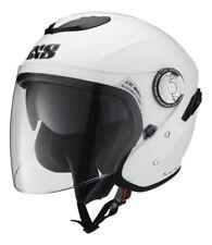 IXS HX 91 Jethelm mit Visier Motorradhelm Roller Sturzhelm schwarz weiß grau