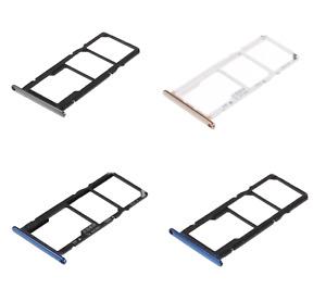 X HUAWEI Y6 2018 Vassoio porta scheda TRAY Sim1 Sim2 + alloggio Memoria Micro SD