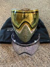 Dye i5 Paintball Goggle Dyecam 2 lens yellow & clear