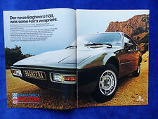 Matra Simca Bagheera '77 - Werbeanzeige Reklame Advertisement 1976 __ (779