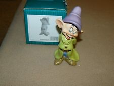 WDCC 2009 Dopey Gleeful Grin Lithograph & Pin 4009982 W COA