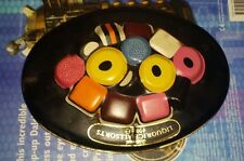 Vintage Collectable Marks & Spencers Liquorice Allsorts Embossed Sweet Tin