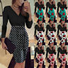 Elegant Women OL Business Office Work Formal Evening Party Bodycon Pencil Dress