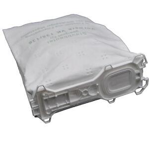 12 Staubsaugerbeutel Beutel, geeignet Vorwerk VK 135 136 (Wei)