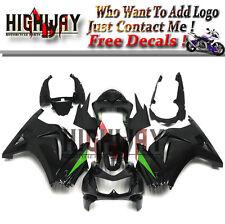 Fairings For Kawasaki Ninja 250 08-12 EX250R ABS Fairing Bodywork Kit BlackGreen