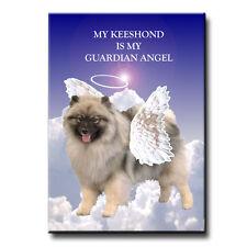 Keeshond Guardian Angel Fridge Magnet New Dog